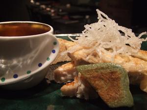 鰆(サワラ)の湯葉包みソテー 柚子と海苔の香るオリジナルソースを添えて