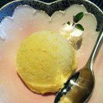 『 オレンジとハチミツ 』のアイスクリームです。