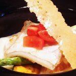 『 太刀魚の低温ロースト ソースモルネーで 』です。